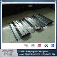 Automatische Betrieb Hochgeschwindigkeit Galvanisiert Boden Decking Roll Forming Machine zum Verkauf