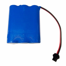 18650 3S1P 11.1V 2900mAh Li Ion Battery Pack