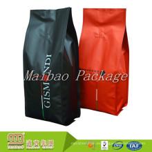 Diseño del OEM del sello de la válvula unidireccional del empaquetado de la categoría alimenticia Modifique las bolsas del embalaje del café del sellado del patio para requisitos particulares
