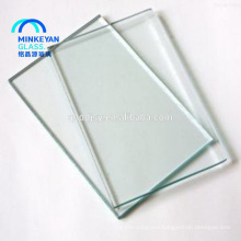Low price 2mm 3mm 8mm tempered float glass