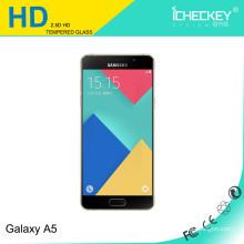 2017 Nueva llegada para Samsung Galaxy A5 9H Protector de pantalla de cristal templado superior / teléfono móvil vidrio templado