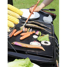 Heavy Duty PTFE Reusable Barbecue(BBQ) Hotplate Liner 50x40cm For BBQ Plate,Great 4 Korean BBq