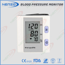CE, aprobación de la FDA Tipo de muñeca Monitor de presión arterial