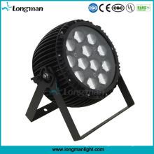 Hohe Leistung 12 * 15W RGBW Osram LED PAR Zoom Bühnenlicht