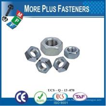 Fabricado en Taiwán DIN 555 Tuerca hexagonal Tuerca hexagonal Tuerca DIN hexagonal estándar