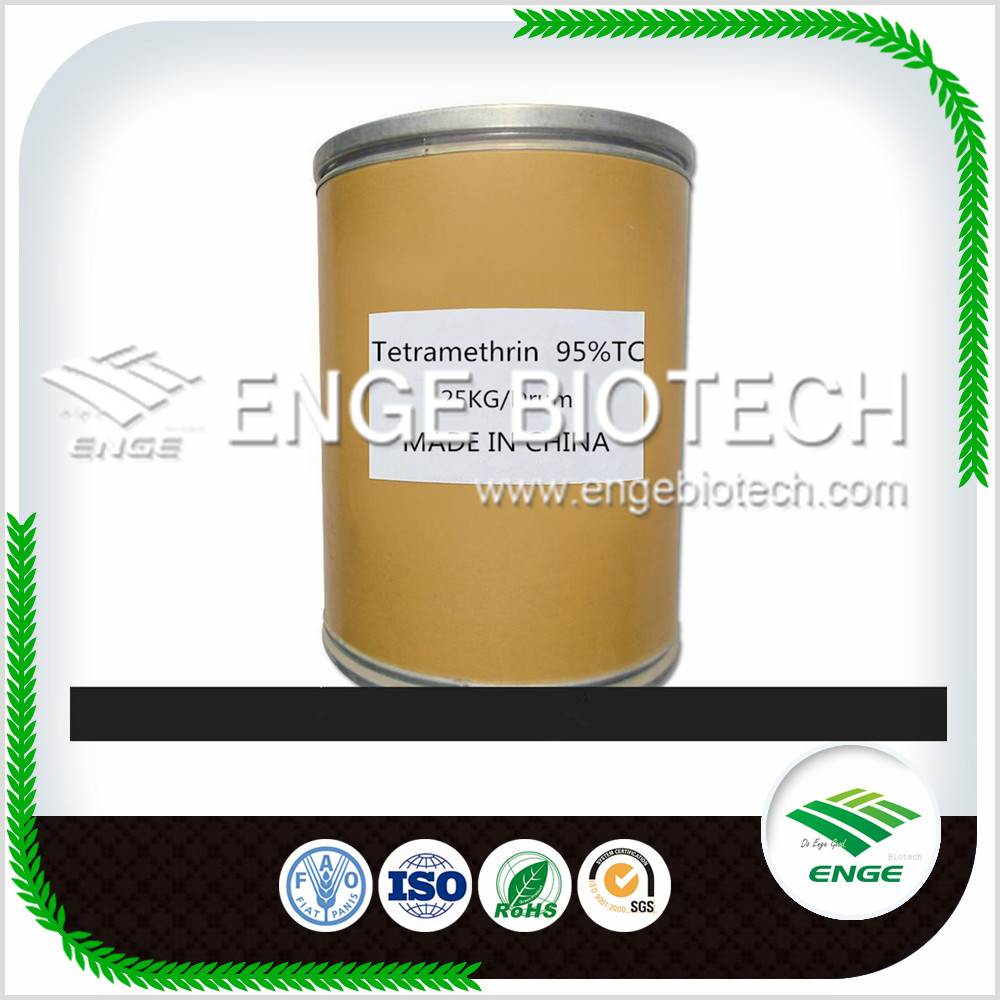 Hot sale synthetic insecticide Tetramethrin 95%TC