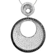 Joyería de plata de la joyería del colgante del círculo 925 de las ventas calientes