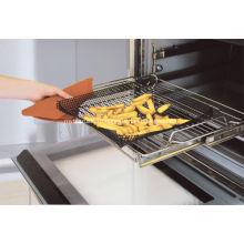 Новая 14.7 «квадрат Resuable антипригарным печь чипсовых сетки для замороженных и замороженных продуктов питания