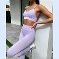 Leggings de entrenamiento Seamless Yoga Set