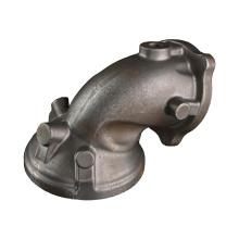 Coude de tuyau d'échappement en acier moulé pour automobiles