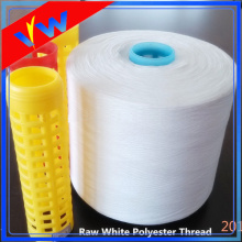 semidull 100% polyester sewing thread