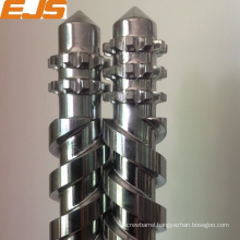 nitriding and chrome plated 135mm x 28D parallel twin screws