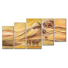 Moderne Hanmade Ölgemälde Afrikanische Landschaft auf Leinwand für Wohnkultur (AR-132)