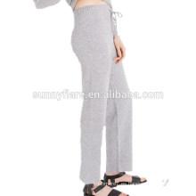 Pantalones de pantalón super cálidos de las mujeres de moda 100% cachemira