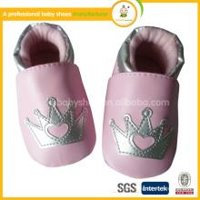 2015 Großhandel in Ningbo Leder Baby Schuhe gemacht