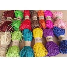 pretty quatity factory price gifts packing raffia