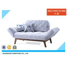 Modern Folding Fabric Sofa Bed Living Room Furniture