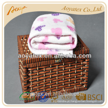 Barato imprime cobertores de swaddle bebê animal grossista por atacado