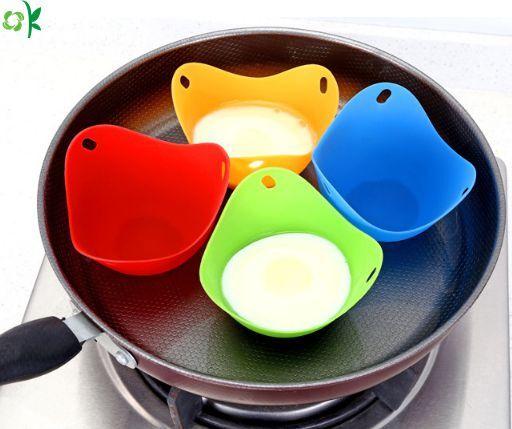 Micro-Ondes pocheuse Parfait Oeuf poch/é Maker Multicolor, 6Pack ddLUCK Silicone Oeufs Braconnage Coupes sans BPA Silicone pocheuse Coupes Non-b/âton Oeufs poch/és Coupes