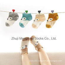 Baby Cute Design Fox Patten Fine Quality Cotton Mesh Socks