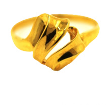 Ruban Bague en Or 18 K Or Jaune