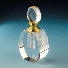 Clear Fashion Crystal Perfume Bottle (JD-XSP-028)