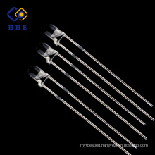 Best price for LED with 3mm round red led long leg