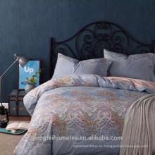 Hermoso disenado tejido de microfibra cepillado disperso para ropa de cama con gran precio