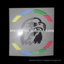 Logo de vinyle de transfert de chaleur de couleur de Reflex / marque pour le vêtement, T-shirt, vêtements