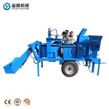 M7MI TWIN hydraform hidráulico móvil que entrelaza la máquina de la fabricación de ladrillos del cemento