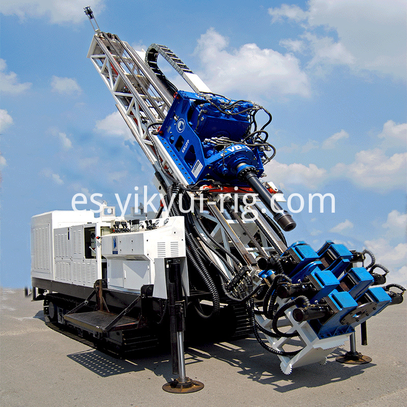 Surface Crawler Drilling Rig Full Hydraulic Track Drilling Rig 1