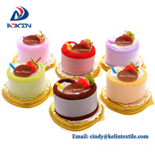 Promotional gifts made in china microfiber terry wedding cake towel favors