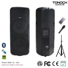 Plástico duplo 15 polegadas caixa de som para o modelo THZ215UB