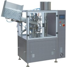 Fully automatic plastic tube filling and sealing machine