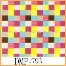 Chinese check pattern canvas fabric