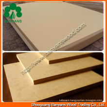 MDF Boards/Raw MDF/Plain MDF/Melamine MDF