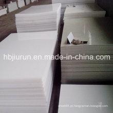 Folha plástica dos PP puros do polipropileno com espessura de 2-30mm