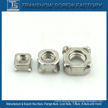 M4-M16 DIN928 Ss304 Stainless Steel Weld Nuts