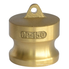 Brass Forged Dust Plug Camlock Couplings