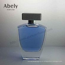 Botella de perfume del diseño de la manera del precio de fábrica con pulido