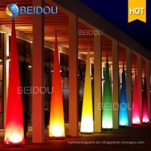 Arco Iluminado por LED Arcos Inflables Pilar Cerdos de Marfil Tubos Conos