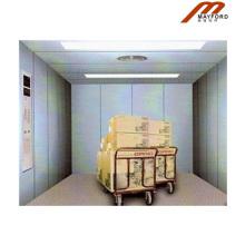 Elevador de carga da sala de máquinas do elevador hidráulico
