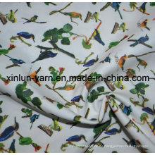 Сатинировки полиэфира напечатанная Покрашенная ткань для детей постельное белье Текстиль
