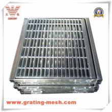 Grille de barre en métal galvanisé pour système de drainage