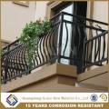 No Soldadura Varillaje de aluminio montado del balcón