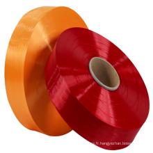 Fils de polyester FDY de bonne résistance de couleur de haute performance