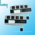 Benutzerdefinierte PVC FPC nicht taktile Membran SwitchKeyboard-Tastatur