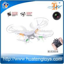 2014 Новое прибытие! 2.4GHz 6 осей 4CH дистанционного управления вертолетом Исследователи rc quadcopter с камерой HD видео