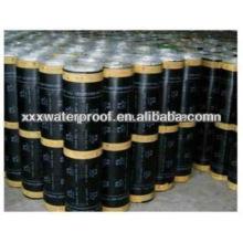Matériau enroulé imperméable à l'asphalte modifié par polymère
