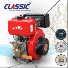 Motor diesel chino de un solo cilindro refrigerado por aire, modelo 186f de 10 CV de motor diesel para la venta, motor diesel de 10 CV refrigerado por aire